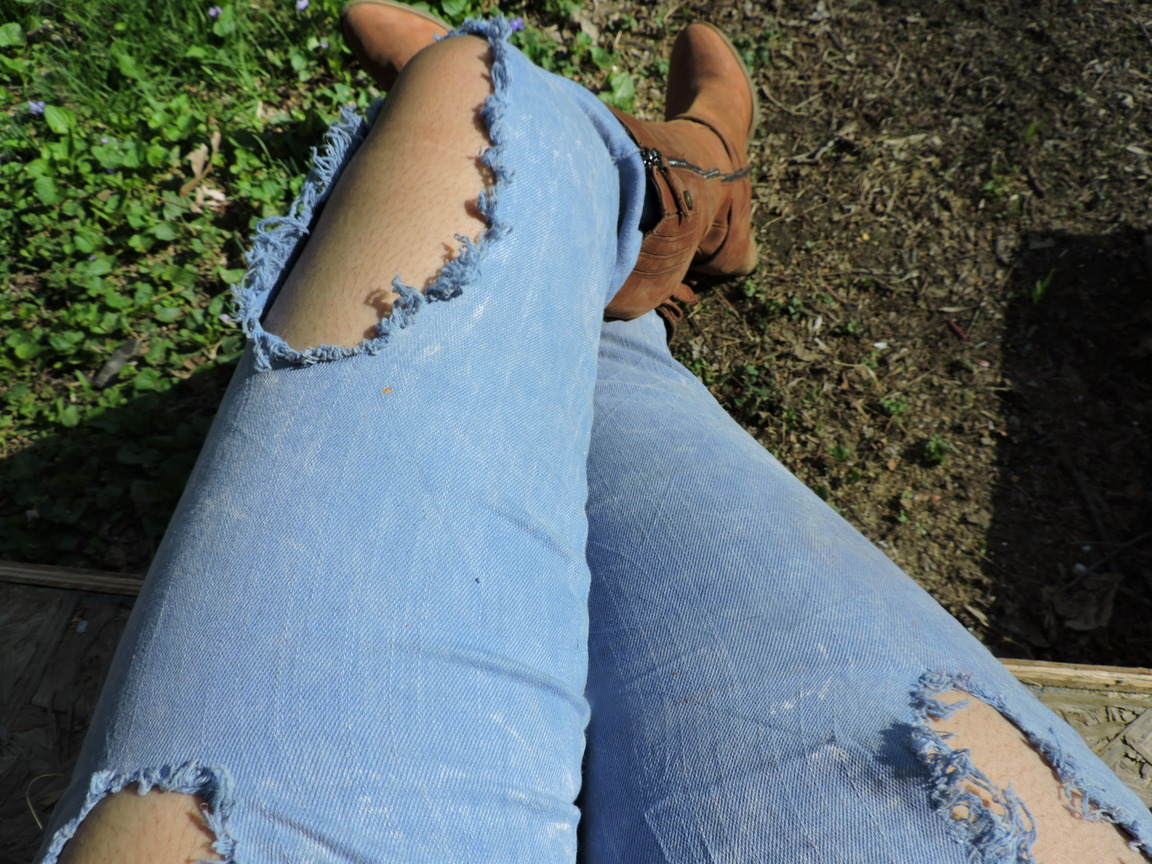 Ripped Jeans and Country Denim – Zenzele Consignment