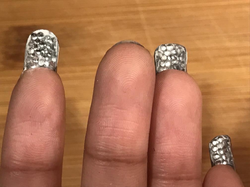 DIY Rhinestones Under Your Nails! – Zenzele Consignment